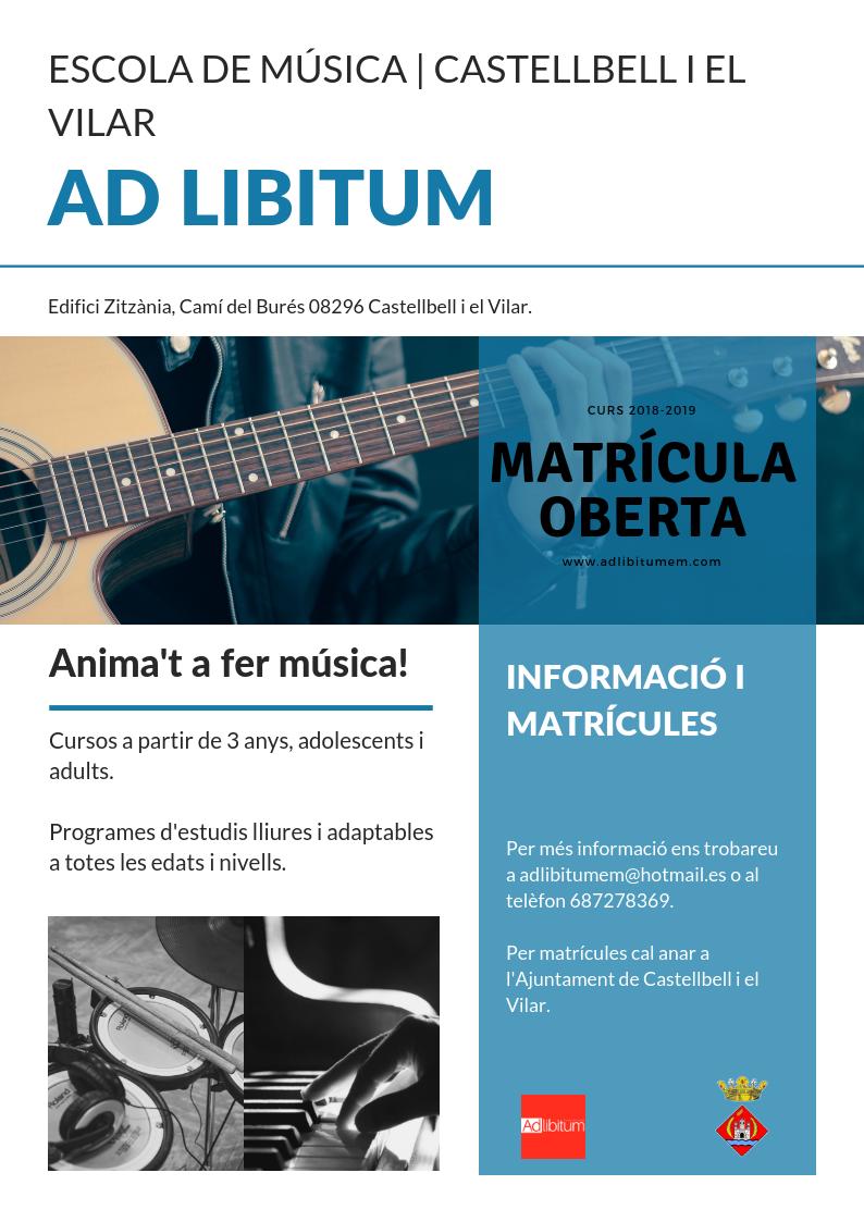 Castellbell i el Vilar Ad libitum